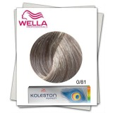 Vopsea Permanenta Mixton - Wella Professionals Koleston Perfect Special Mix nuanta 0/81 argintiu