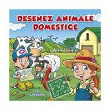 Desenez animale domestice - cu sabloane, editura Nomina