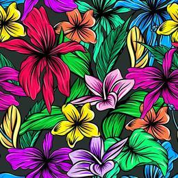 Tablou Canvas cu Flori 018 - 80 x 80 cm