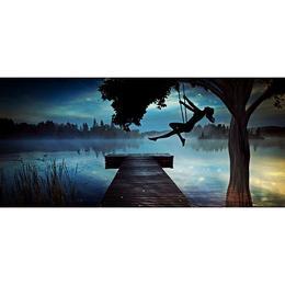 Tablou Canvas Artistic 251 - 80 x 160 cm