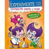Experimente pentru copii vol.1 (portocaliu): distractiv, rapid si usor