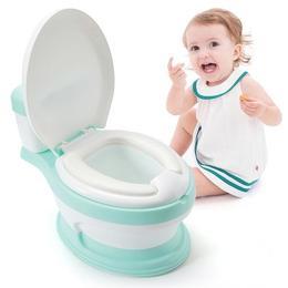Olita educationala Little Mom Simulation Potty Green
