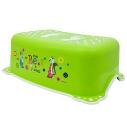 Inaltator anti-derapant pentru toaleta si chiuveta Little Bear and Friends Green