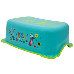 Inaltator anti-derapant pentru toaleta si chiuveta Little Bear and Friends Turquoise