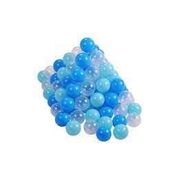 Set 100 bile Soft Blue