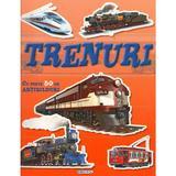 Trenuri cu peste 50 de abtibilduri, editura Girasol