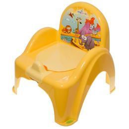 Mini toaleta muzicala Safari galbena