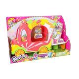 Set de joaca Shopkins, Smoothie Truck, include 2 figurine Shopkins plus Blender