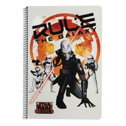 Caiet cu spira A4 Star Wars Rebels