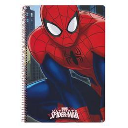 Caiet 80 file A4 Spiderman cu spira