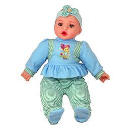 Bebelusul de plus vorbeste in limba romana Baby Lovely 45 cm