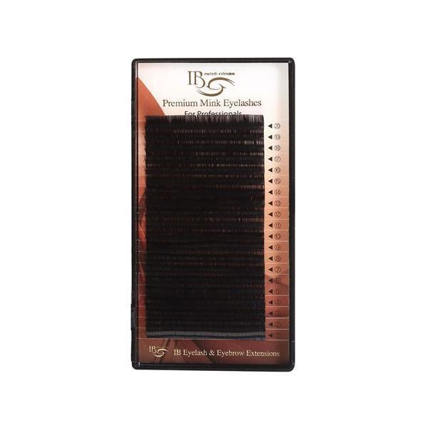 Extensii de gene iBeauty curbura C 0.10 /11mm- 20 raduri imagine produs