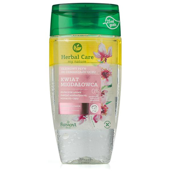 Demachiant Bifazic pentru Ochi cu Floare de Migdal - Farmona Herbal Care Almond Flower Eye Make-Up Remover, 150ml imagine produs
