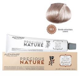 Vopsea Permanenta Fara Amoniac - Alfaparf Milano Precious Nature Ammonia-Free Permanent Hair Color, nuanta 10.1 Biondo Extrachiaro Cenere