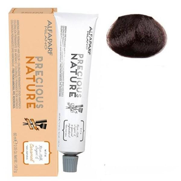 Vopsea Permanenta Fara Amoniac - Alfaparf Milano Precious Nature Ammonia-Free Permanent Hair Color, nuanta 5.32 Castano Chiaro Dorato Irise poza