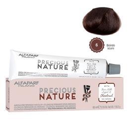 Vopsea Permanenta Fara Amoniac - Alfaparf Milano Precious Nature Ammonia-Free Permanent Hair Color, nuanta 6 Biondo Scuro