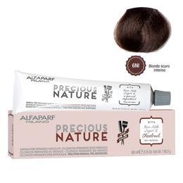 Vopsea Permanenta Fara Amoniac - Alfaparf Milano Precious Nature Ammonia-Free Permanent Hair Color, nuanta 6NI Biondo Scuro Intenso
