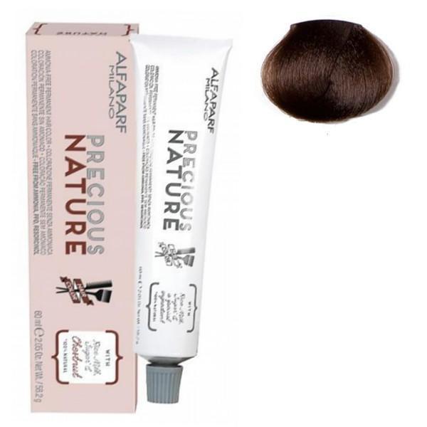 Vopsea Permanenta Fara Amoniac - Alfaparf Milano Precious Nature Ammonia-Free Permanent Hair Color, nuanta 7NI Biondo Medio Intenso poza