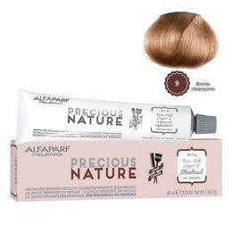 Vopsea Permanenta Fara Amoniac – Alfaparf Milano Precious Nature Ammonia-Free Permanent Hair Color, nuanta 9 Biondo Chiarissimo de la esteto.ro