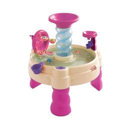 Masuta de joaca roz pentru copii cu apa Little Tikes