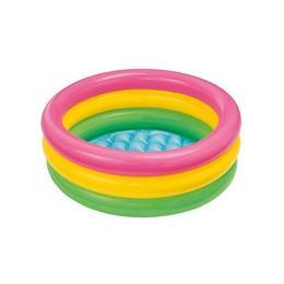 Piscina gonflabila pentru copii, Multicolor, Nebunici 86 x 25 cm