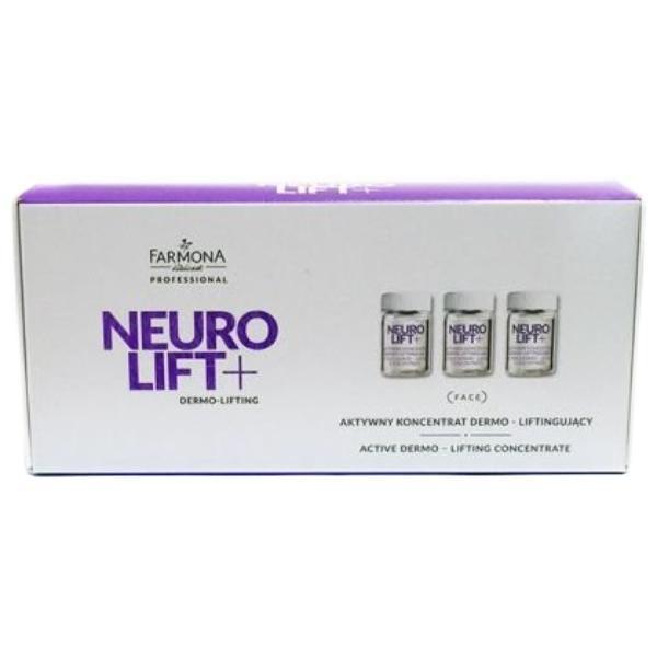 Concentrat Dermo-lifting Activ Fiole Zi/Noapte - Farmona Neuro Lift+ Active Dermo-lifting Concentrate Day/Night, 10 x 5ml imagine produs