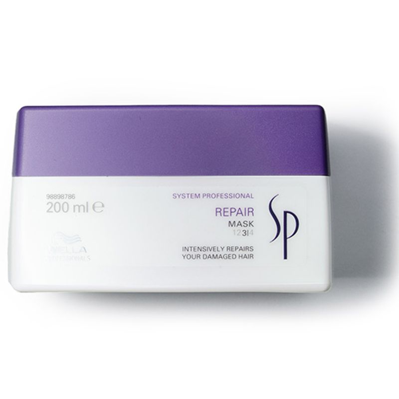 Masca Reparatoare pentru Par Degradat - Wella SP Repair Mask 200 ml imagine