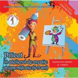Piticot in atelierul de creatie - Grupa mijlocie 4-5 ani - Adina Grigore, Cristina Ipate-Toma, A. Smaranda, Elena-L. Radu, editura Ars Libri