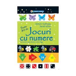 Jocuri cu numere - Simon Tudhope, Sarah Khan, editura Corint