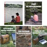 Pachet Promotional Carti Programare Incepatori (4+1), autor Gabriel Braharu editura De Vis Software