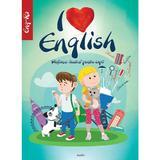 I Love English. Dictionar ilustrat pentru copii englez-roman, editura Aquila