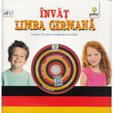 Invat limba germana (contine CD cu jocuri), editura Gama