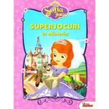 Disney Sofia Intai - Superjocuri in Misteria, editura Litera