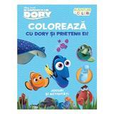 Disney In cautarea lui Dory - Coloreaza cu Dory si prietenii ei! Jocuri si activitati, editura Litera