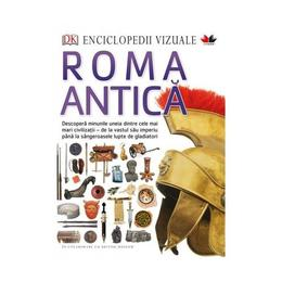 Enciclopedii vizuale: Roma antica, editura Litera