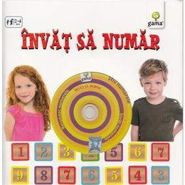 Invat sa numar (contine CD cu jocuri), editura Gama