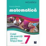 Matematica - Clasa a- VII-a - Caiet de exercitii pentru limpul liber - Rozica Stefan, editura Niculescu