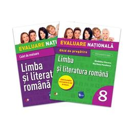 Evaluare nationala Limba si literatura romana Cls 8 + Ghid pregatire - Madalina Vincene, editura Litera