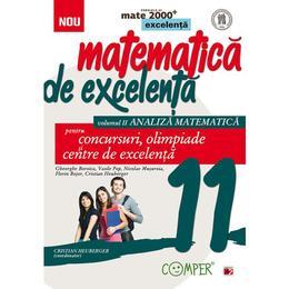 Matematica de excelenta - Clasa 11. Vol. 2: Analiza matematica - Gheorghe Boroica, editura Paralela 45