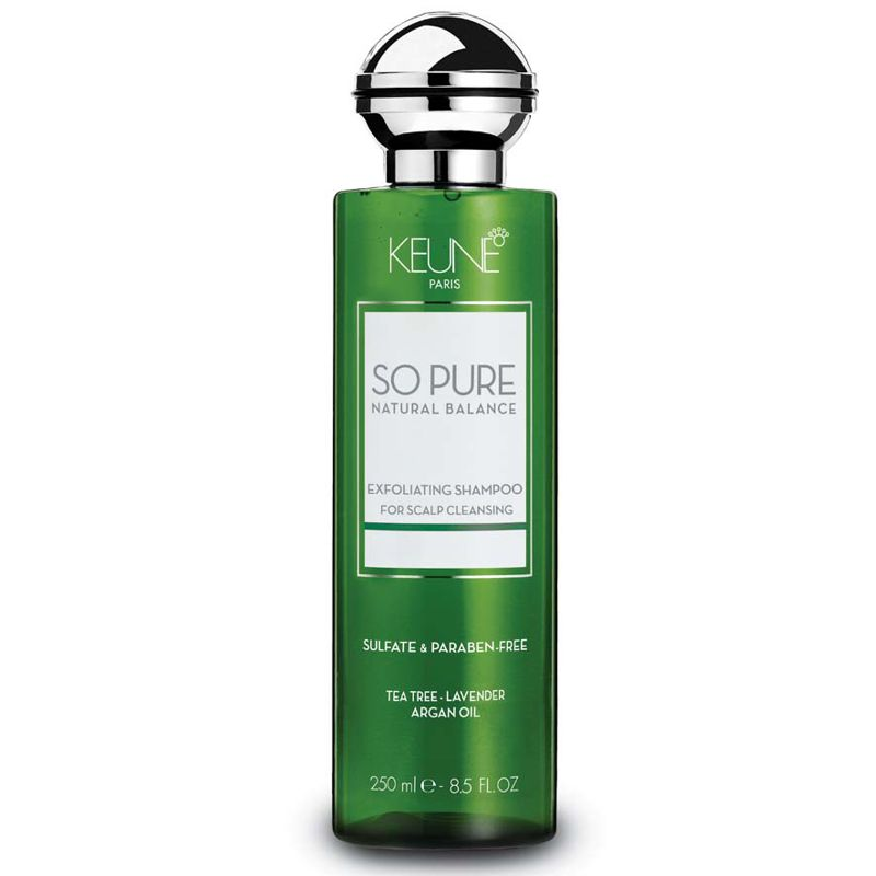 Sampon Exfoliant - Keune So Pure Exfoliating Shampoo 250 ml imagine
