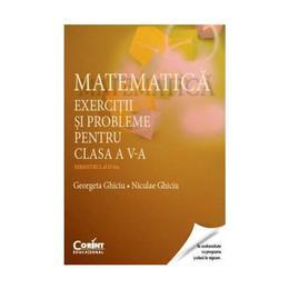 Matematica - Clasa 5 - Semestrul 2 - Exercitii si probleme - Georgeta Ghiciu, Niculae Ghiciu, editura Corint