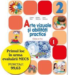 Arte vizuale si abilitati practice cls 2 sem.1 + CD - Cristina Rizea, Daniela Stoicescu, editura Litera