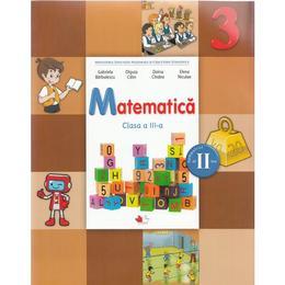 Matematica - Clasa a 3-a. Sem. 2 - Manual + CD - Gabriela Barbulescu, Olguta Calin, Doina Cindea, Elena Niculae, editura Litera