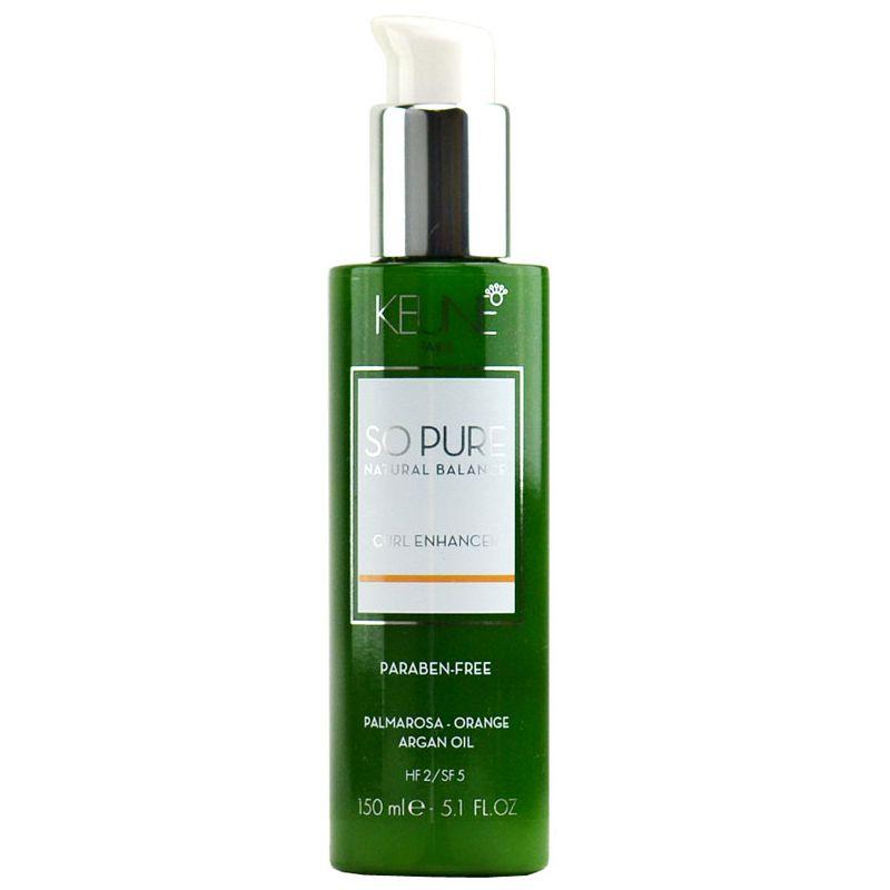 Crema pentru Bucle - Keune So Pure Curl Enhancer 150 ml