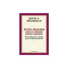 Peter Drucker. Curs de formare pentru manageri - Joseph A. Maciariello, editura Litera