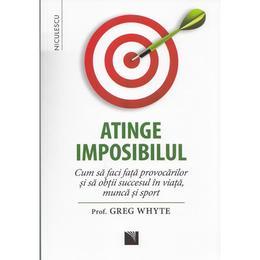 Atinge imposibilul - Greg Whyte, editura Niculescu