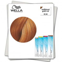 Vopsea Permanenta - Wella Professionals Koleston Perfect Innosense nuanta 8/34 blond deschis