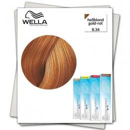 Vopsea Permanenta - Wella Professionals Koleston Perfect Innosense nuanta 8/34 blond deschis