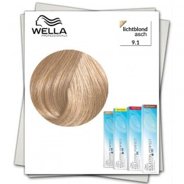 Vopsea Permanenta - Wella Professionals Koleston Perfect Innosense nuanta 9/1 blond luminos cenusiu