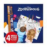 Disney: Zootropolis - Lumea magica a culorilor (4 Megaplanse), editura Litera